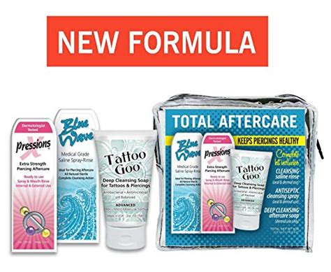 tattoo goo body art aftercare kit caring for new piercings what you need to know the