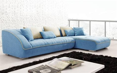 Blue Sectional Sofa Keon Blue Sectional Modern Sectional Sofas By Defysupply