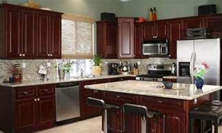 Paint Colors For Kitchens With Cherry Cabinets by Kitchen Paint Colors With Dark Cherry Cabinets Smart