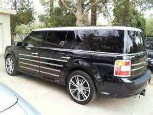 Ford Flex Custom Sell Used 2010 Ford Flex Custom Two Tone With Thule And
