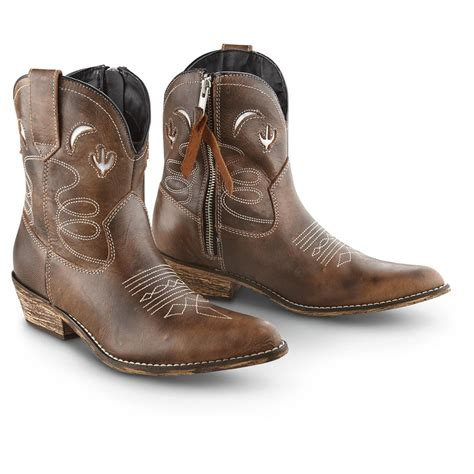 brown womans boots s dingo 174 adobe western boots brush brown