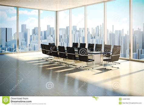 daylight l for office modern office interior stock illustration illustration of