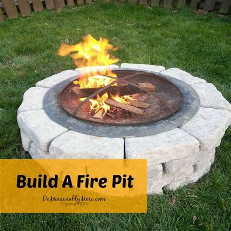 how to make fire pit in backyard build a fire pit hometalk