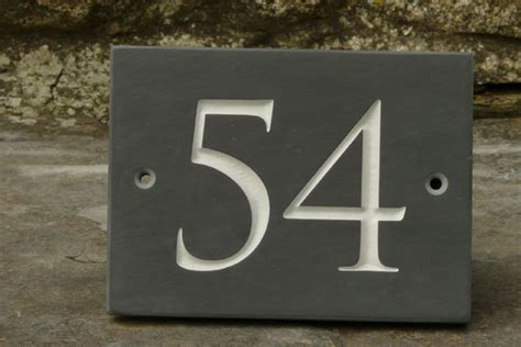 design house numbers uk the slate workshop the slate workshop slate welsh
