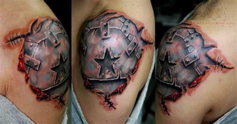 tattoo 3d armor 3d armour star tattoo design of tattoosdesign of tattoos