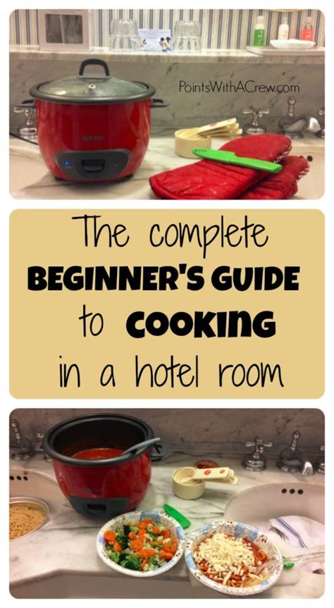 healthy room recipes the complete beginner s guide to cooking in a hotel room