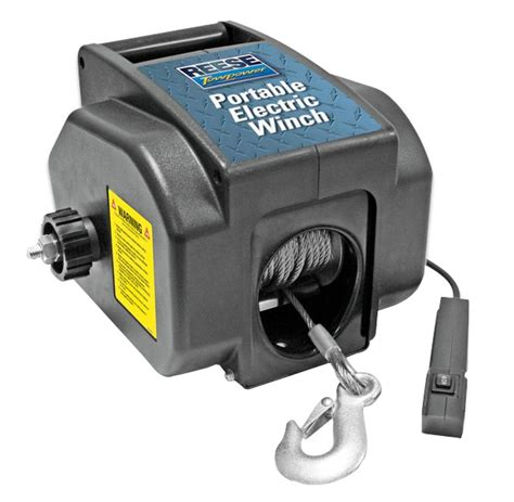 reese portable electric winch 7033600 new ebay