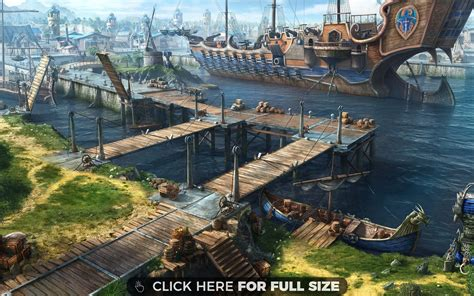 boat dock games old game port with ship wallpaper