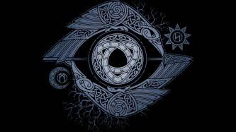 odin s eye t shirt by raidho design by humans