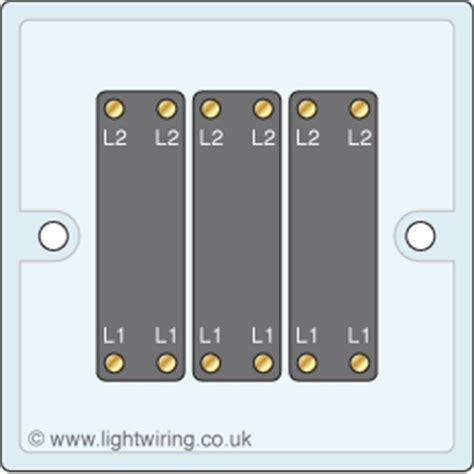 3 intermediate light switch light wiring