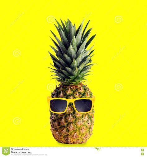 Pineapple Yellow cool pineapple editorial stock photo image of sunglasses