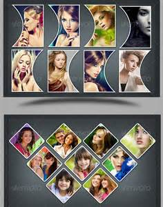 3 Photo Collage Template by Amazing Collage Templates In Photoshop