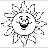 Happy Face Sun Black And White | 384 x 372 gif 4kB
