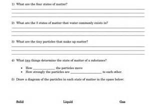 phases of matter worksheet abitlikethis
