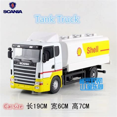 Die Cast Truck Series joycity 1 43 scale simulation die cast model scania series the tank truck for children s