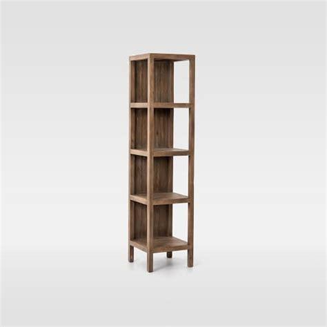 Narrow Bookcase Sale Cabin Narrow Bookcase West Elm