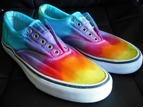 tie dye shoes tie dye slip on shoes by doyoudreamoutloud on etsy