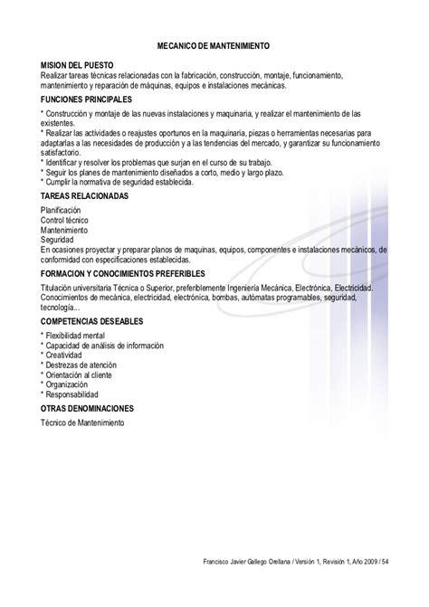Modelo De Curriculum Vitae Tecnico Mecanico manual como hacer un curriculum vitae exitoso