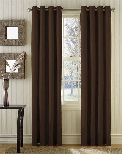minimalist curtains minimalist curtain design with brown color img 09 small