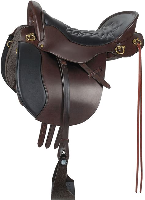horse saddle demo equitation endurance trail english horse saddle