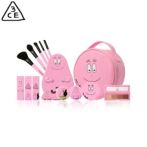 3ce X Barbapapa Perlengkapan Makeup 1set box korea 3ce pink rumour kit 1set best price and fast shipping from box korea