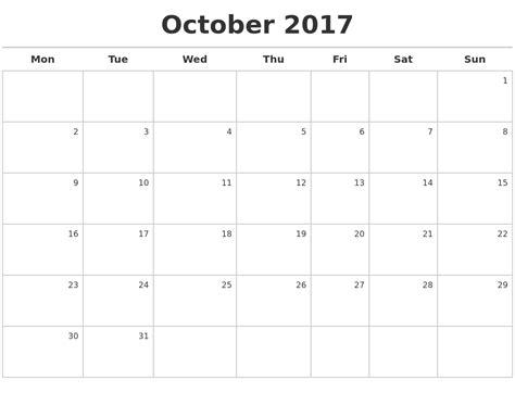 printable calendar booklet 2017 book it calendar october 2017 2018 calendar printable