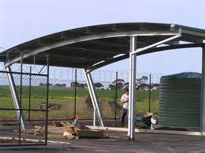 Curved Gazebo Roofs by Adelaide Hills Curved Roof Pergolas Mt Barker Steel