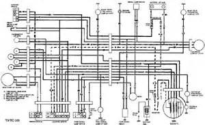 suzuki ts 125 wiring diagram ts free printable wiring diagrams