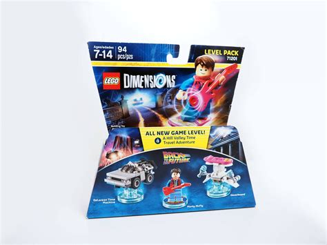 Lego 71201 Dimensions Level Pack Back To The Future review lego dimensions back to the future level pack 71201 culture