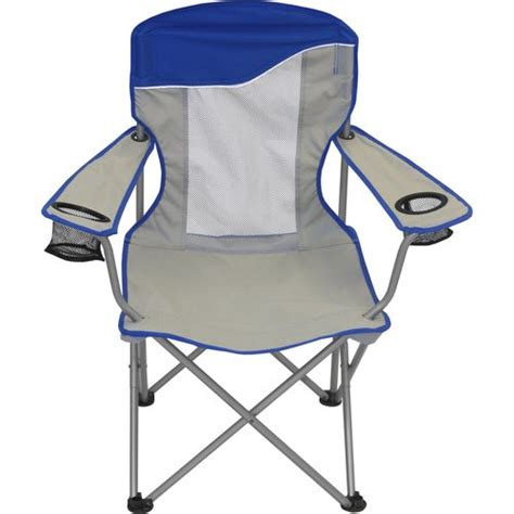 Ozark Folding Chair by Ozark Trail Comfort Mesh Cing Folding Arm Chair Walmart