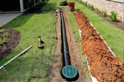 backyard drainage system drainage kinston nc limitless gutters and drainage