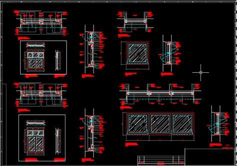 escaleras en corte frontal detalles de ventanas en autocad descargar cad 187 18 kb