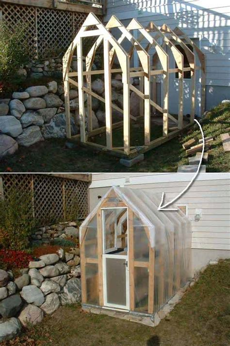 diy backyard greenhouse 17 simple budget friendly plans to build a greenhouse