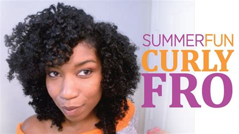 dear naptural summer fun curly fro quot natural hair quot youtube