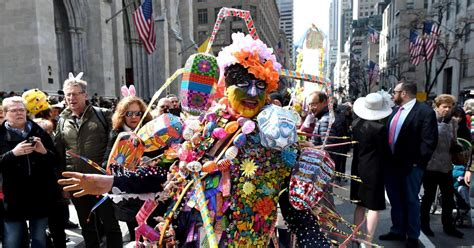 2016 Nyc Easter Parade And Bonnet Festival Photos