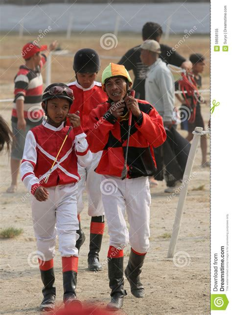 Cacing Sukoharjo jockeys editorial image image 58658155