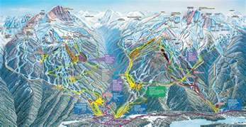 map of canada whistler whistler ski resort map