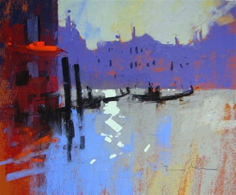 Tony Paintings by Silver Light Venice By Tony Allain Venice Lights And Silver