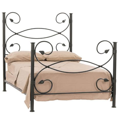 wrought iron headboard leaf headboard