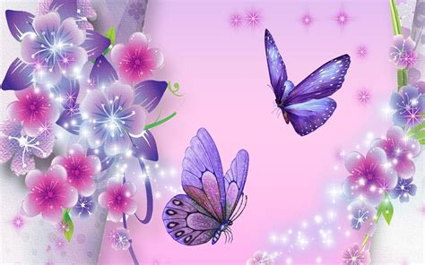 purple butterfly backgrounds background hd wallpaper