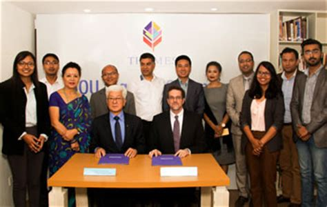 Thames College Of Nepal   mou with thames international college in nepal webster