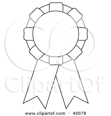 printable rosette templates first place ribbon pages coloring pages