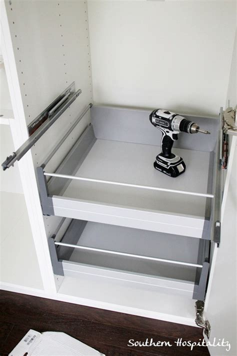 Add A Shelf To A Cabinet by Week 18 House Renovation Stainless Steel And White