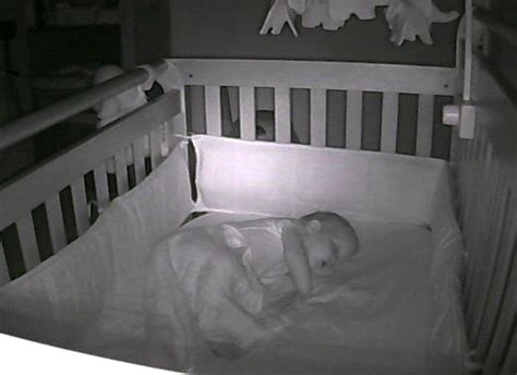 Baby Sleeps On Side In Crib Our Bedtime Routine And Our New This Is Sesame