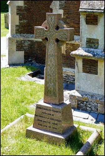 Sandringham Estate grave of prince john john charles francis windsor