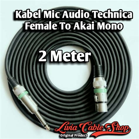 Kabel Mic Xlr To Akai Mono 5 Meter Top 8 pusat penjualan kabel mic audio kabel audio socket