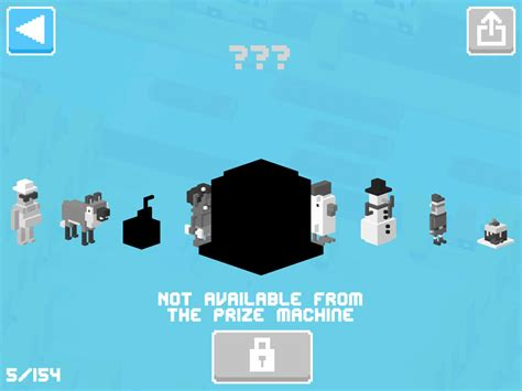how do u get the new mystery character in cross road on the new update crossy road clans game studio