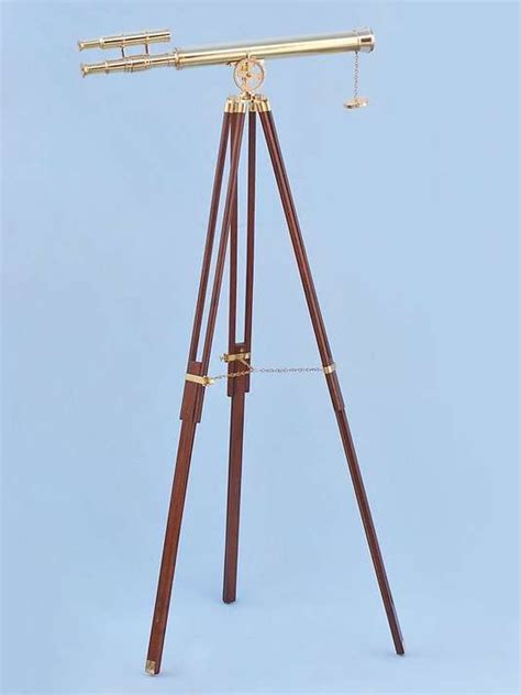 Telescope Floor L by Brass Griffith Astro Telescope 60 Inch Brass Telescopes
