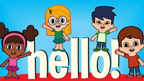 greeting song hello simple songs