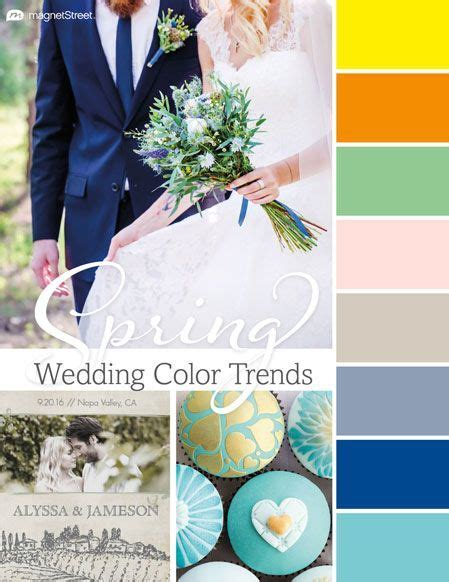 Top 2018 Wedding Color Trends: Spring, Summer, Fall